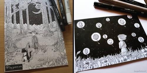 00-Creature-Drawings-Jason-Gailans-www-designstack-co