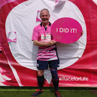 Me At End Of Race For Life 2019