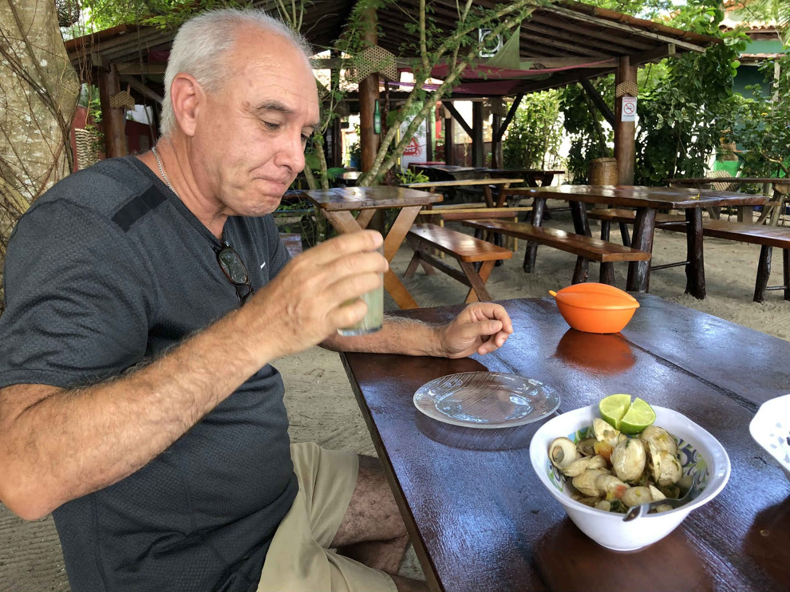 Restaurante Cantinho do Sol - Ilha do Sapinho