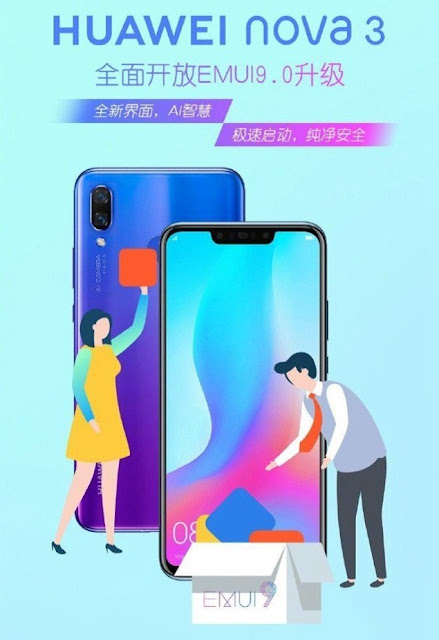 huawei-nova-3-receving-android-9-pie-emui-9