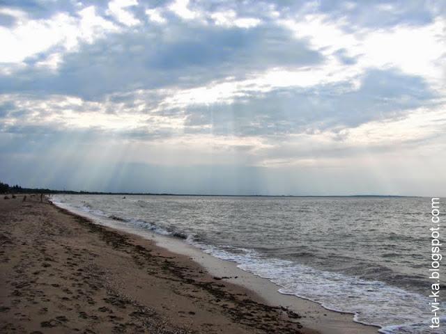 Азовское море Казантип