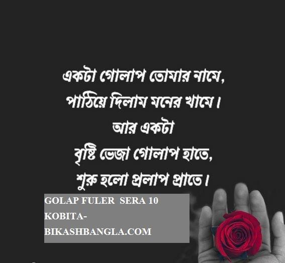গোলাপ ফূল নিয়ে সেরা ১০ টি বাংলা কবিতা - গোলাপ ফূলের কবিতা