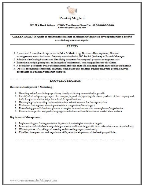 mba fresher resumes samples marketing resume examples mba