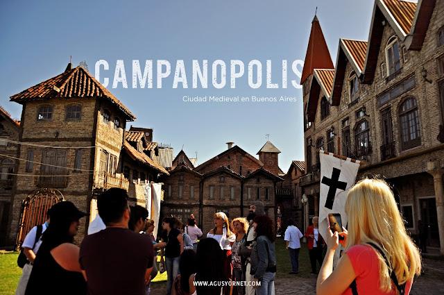 Campanopolis aldea Mediaval en Buenos Aires