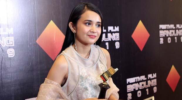 Michelle Ziudith Raih Pemeran Wanita Terpuji Serial Televisi FFB 2019