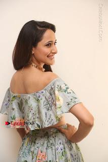 Actress Pragya Jaiswal Stills in Floral Dress at turodu Interview  0066.JPG