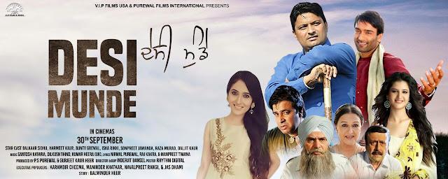 Desi Munde (Punjabi) Movie Star casts, News, Wallpapers, Songs & Videos