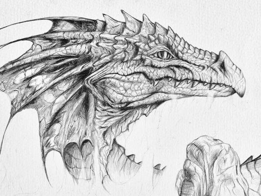 Dibujos De Monstruos Mitologicos A Lapiz Imagui