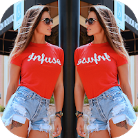 Mirror Image: Pic Collage, Selfie Camera, Stickers Apk Download