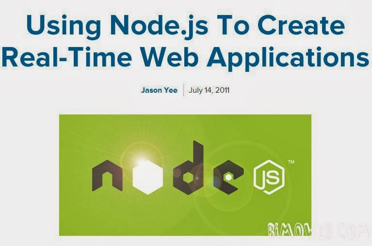 Using Node.Js to Creating Real-time Web App