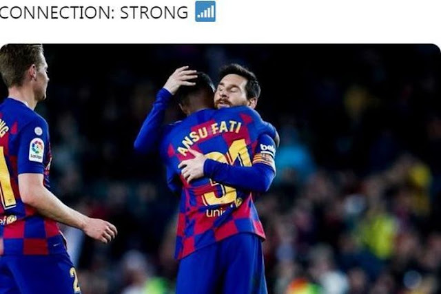 messi-beat-opponents-8-times-barcelona-Approach-Madrid-and-Spanish-League-Classification-