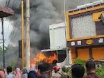 VIDEO, Lokasi Usaha Bakso di Tebingtinggi Ludes Terbakar