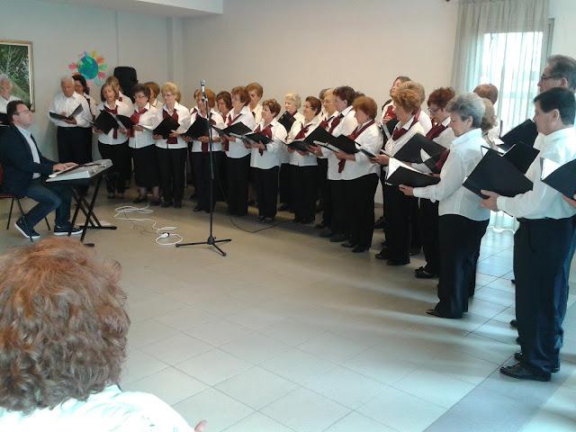 Εκδήλωση για την ημέρα της μητέρας πραγματοποιήθηκε στο Γ' ΚΑΠΗ του Δήμου Λαρισαίων