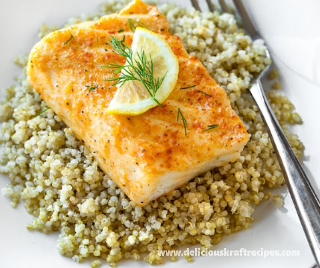 EASY BAKED HALIBUT RECIPE
