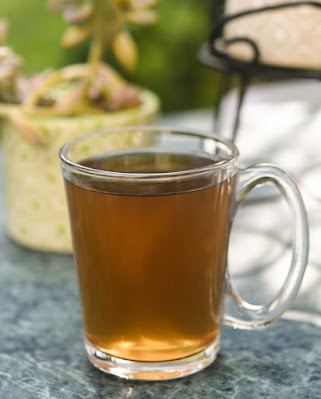 masala lemon tea with finger lime