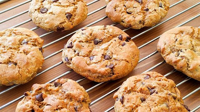 cookies, américains, pépites de chocolat, recette, recipe