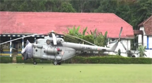 Modi's helicopter still in Sri Lanka -- Is Dalada Maligawa occult curse ... true?