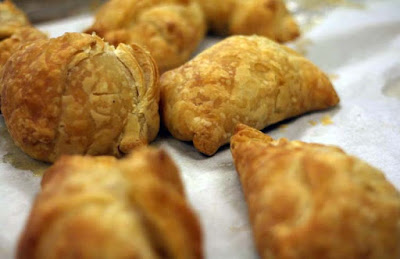 Samosas are a famous popular African food recipe