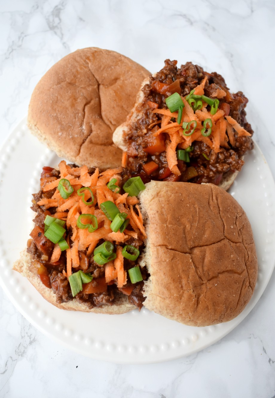 Healthy Asian Sloppy Joes