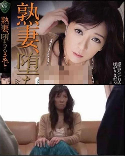 Foto Perbandingan Artis Porno Jepang Saat di Cover Dengan Aslinya