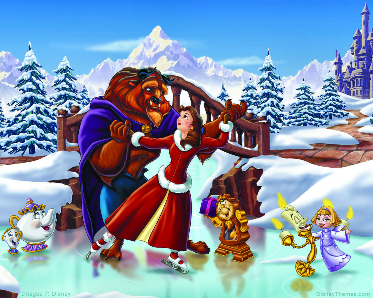 HD Wallpapers: Disney Land Christmas Cartoon HD Wallpapers