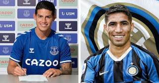 Confirmed: Real Madrid has earn €90m in sales of players including James' transfer to Everton.