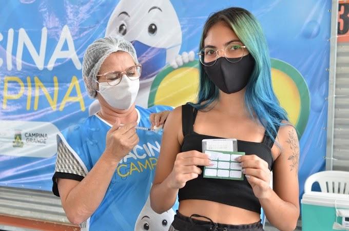 COVID-19: Campina Grande segue imunizando pessoas a partir de 33 anos nesta quinta-feira
