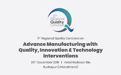Quality Council of India (QCI) Conclave will be held in Uttarakhand on 20th December 2019