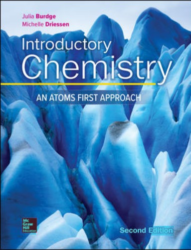 Introductory Chemistry An Atoms First Approach by Julia Burdge and Michelle Driessen in pdf