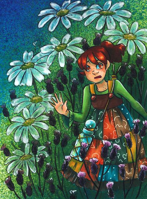 Becca Hillburn, Nattosoup, Copic illustration, Copic marker illustration, alcohol marker art,