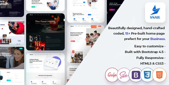 Best Creative Multipurpose HTML5 Templates
