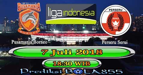Prediksi Bola855 Pusamania Borneo vs Perseru Serui 7 Juli 2018