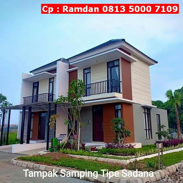 Rumah Minimalis Mewah di Karawang, FREE Kanopi, Lokasi Strategis, CP 0813 5000 7109