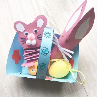Easter casket craft