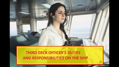 3rd Officer on Board