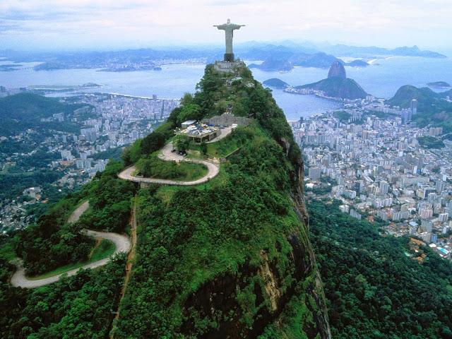 Cristo Redentor na Cidade do Rio de Janeiro
