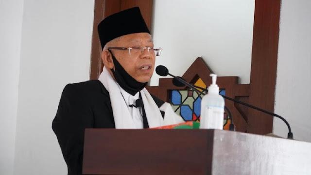 Ma'ruf Amin: Kalaupun AstraZeneca Tidak Halal, MUI Bilang Boleh Digunakan