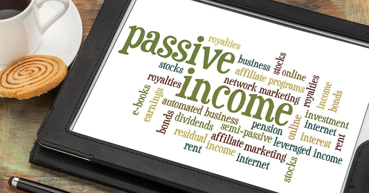 Bisnis Online Solusi Mendapatkan Passive Income   Portal ...