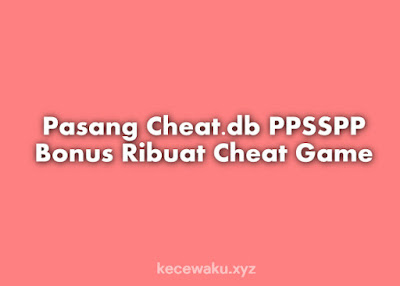 Cheat db