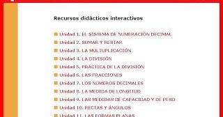 Matemáticas 4º - Recursos Anaya   ESCUELA 2018 - Primaria
