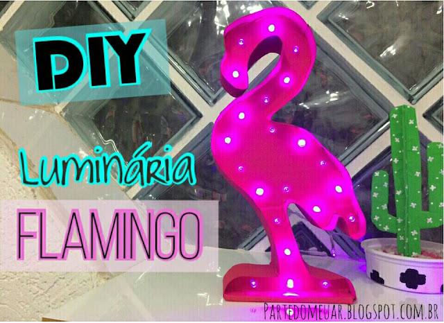 diy flamingo