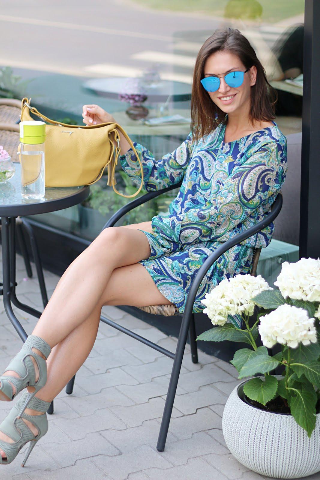 Dress and the city * wakacyjna sukienka w miejskim stylu