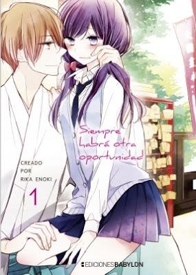 """Manga: Review de """"Siempre habrá otra oportunidad"""" de Rika Enoki - Ediciones Babylon"""