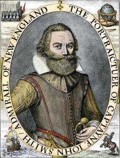John Smith (1580-1631) y el mito de Pocahontas