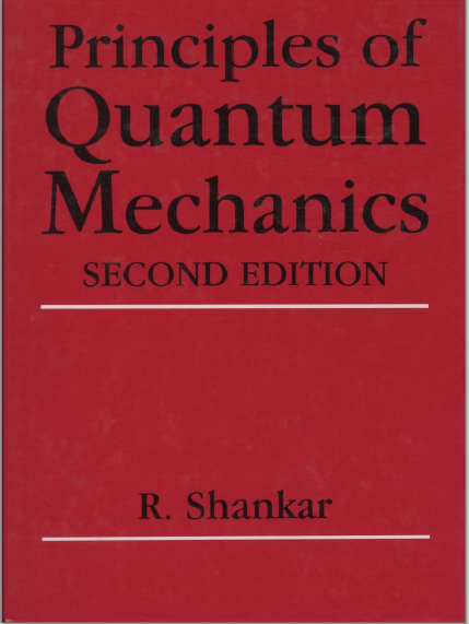 pdf book : PRINCIPLES OF QUANTUM MECHANICS by R  SHANKAR ~ House of
