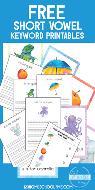 FREE Short Vowel alphabet wall cards, alphabet practice worksheets, handwriting practice, preschool handwriting worksheets, handwriting worksheets, kindergarten, and alphabet practice activities