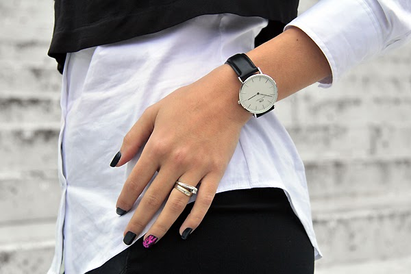 silver watches from Daniel Wellington