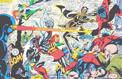 X-Men #100, Dave Cockrum, old vs new
