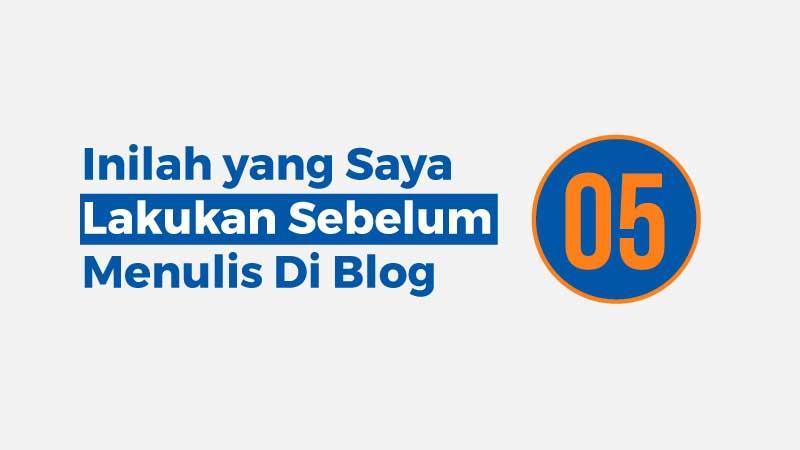 blogger, tips ngeblog