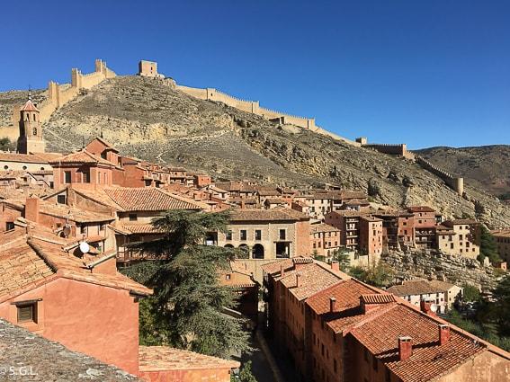 Muralla de Albarracin, uno de los pueblos mas bonitos de España